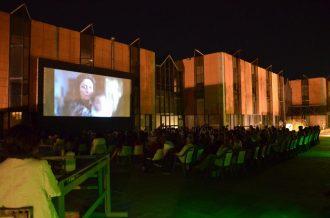 cinema all'aperto al museo di Messina (MuMe) in collaborazione con il Multisala Apollo