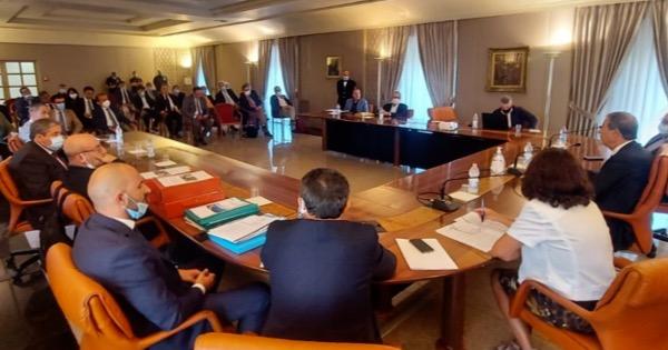 Vertice alla Regione Siciliana dopo la bomba d'acqua di Messina e provincia dell'8 agosto 2020: la Regione delibererà lo stato di calamità