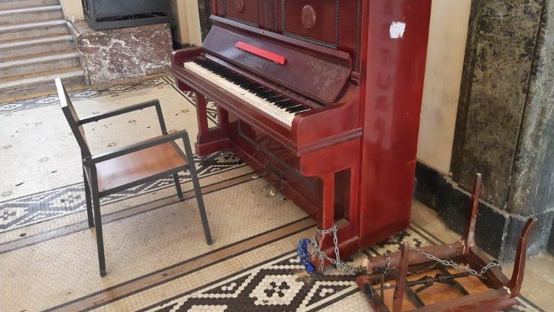 pianoforte della galleria vittorio emanuele di messina nel 2020