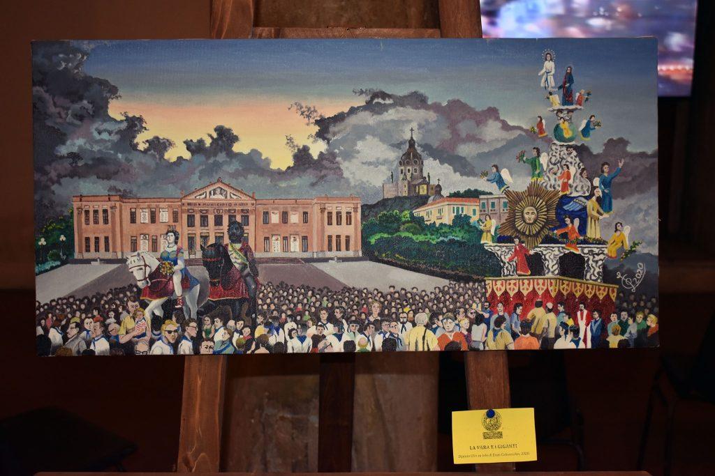 esposizione del comitato vara per l'agosto 2020