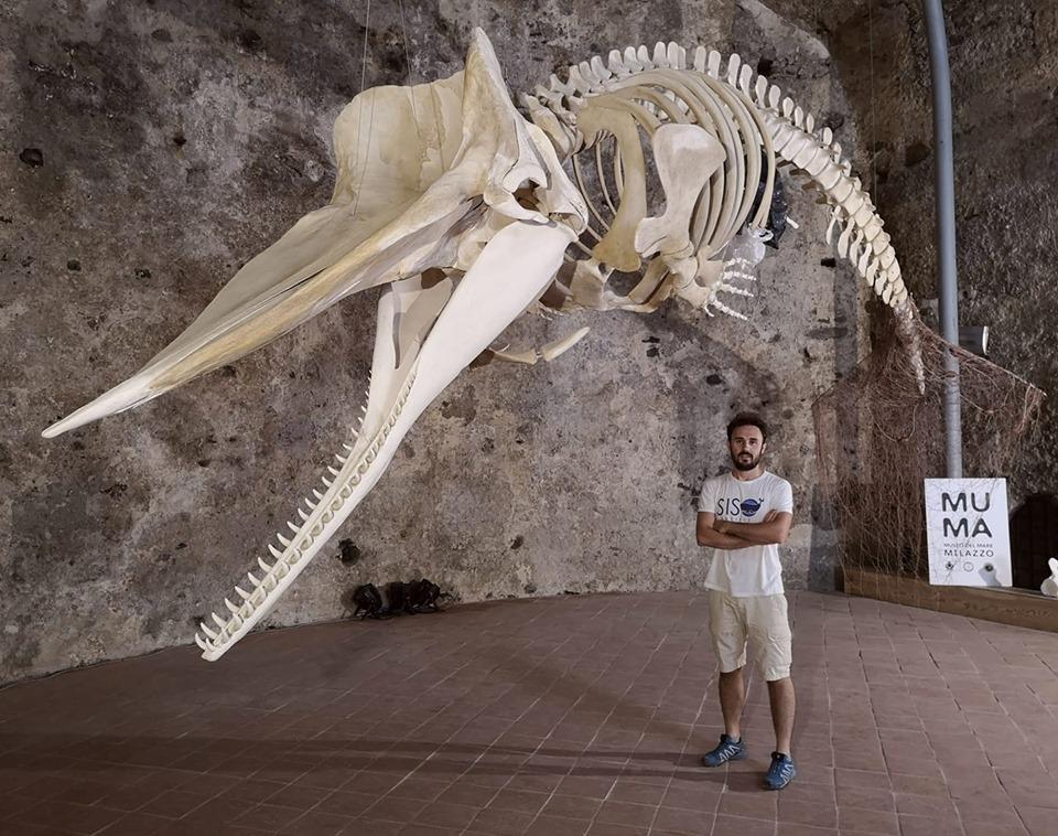 Carmelo Isgrò al Museo del Mare di Milazzo