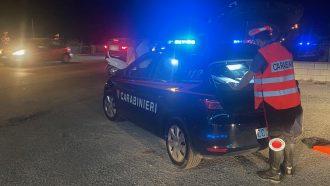 controlli dei carabinieri sulla movida in provincia di messina