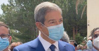 nello musumeci con la mascherina, presentazione ordinanza coronavirus per la sicilia di settembre 2020