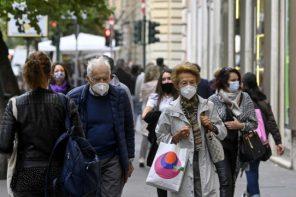mascherine coronavirus all'aperto