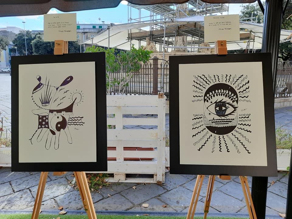 lockdown a colori, mostra a messina, le opere di olimpia muzzopappa