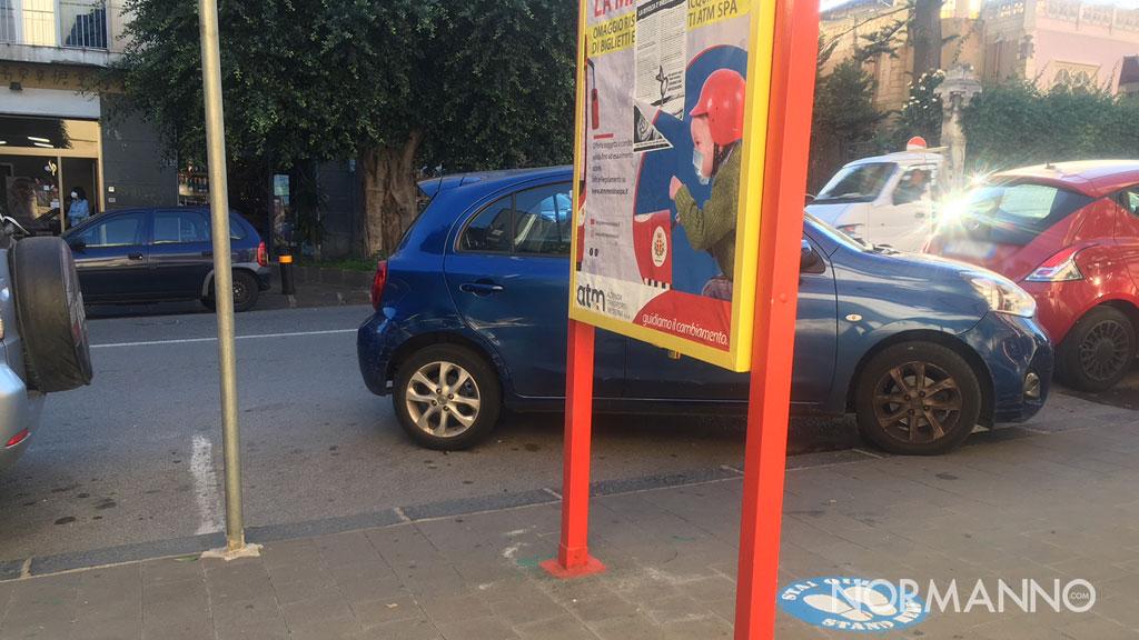 parcheggi quattro frecce