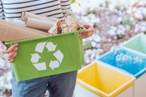 immagine simboleggiante il riciclo e la raccolta differenziata