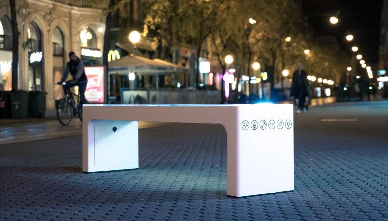 panchina smart bench