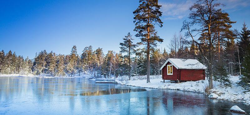lago ghiacciato per lo spirito dell'acqua