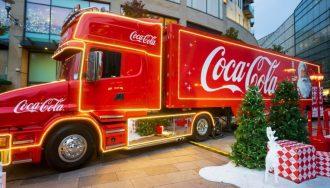 camion di natale della coca cola fa tappa a messina: arriva il christmas truck