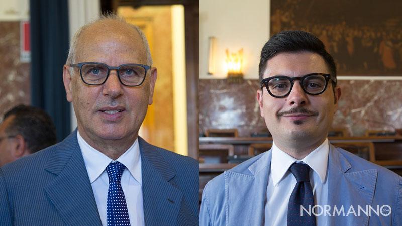 i consiglieri della Lega di Messina, Dino Bramanti e Giovanni Scavello