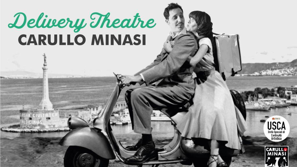 delivery Theatre Carullo-Minasi: teatro a domicilio a messina