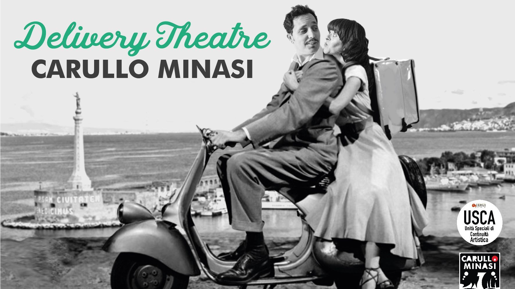 delivery Theatre Carullo-Minasi: teatro a domicilio a messina