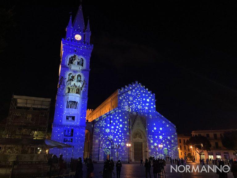 natale 2020 a messina: piazza duomo illuminata