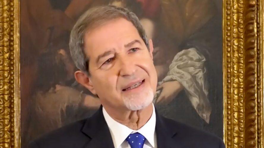 discorso di fine anno 2020 del presidente della regione siciliana nello musumeci