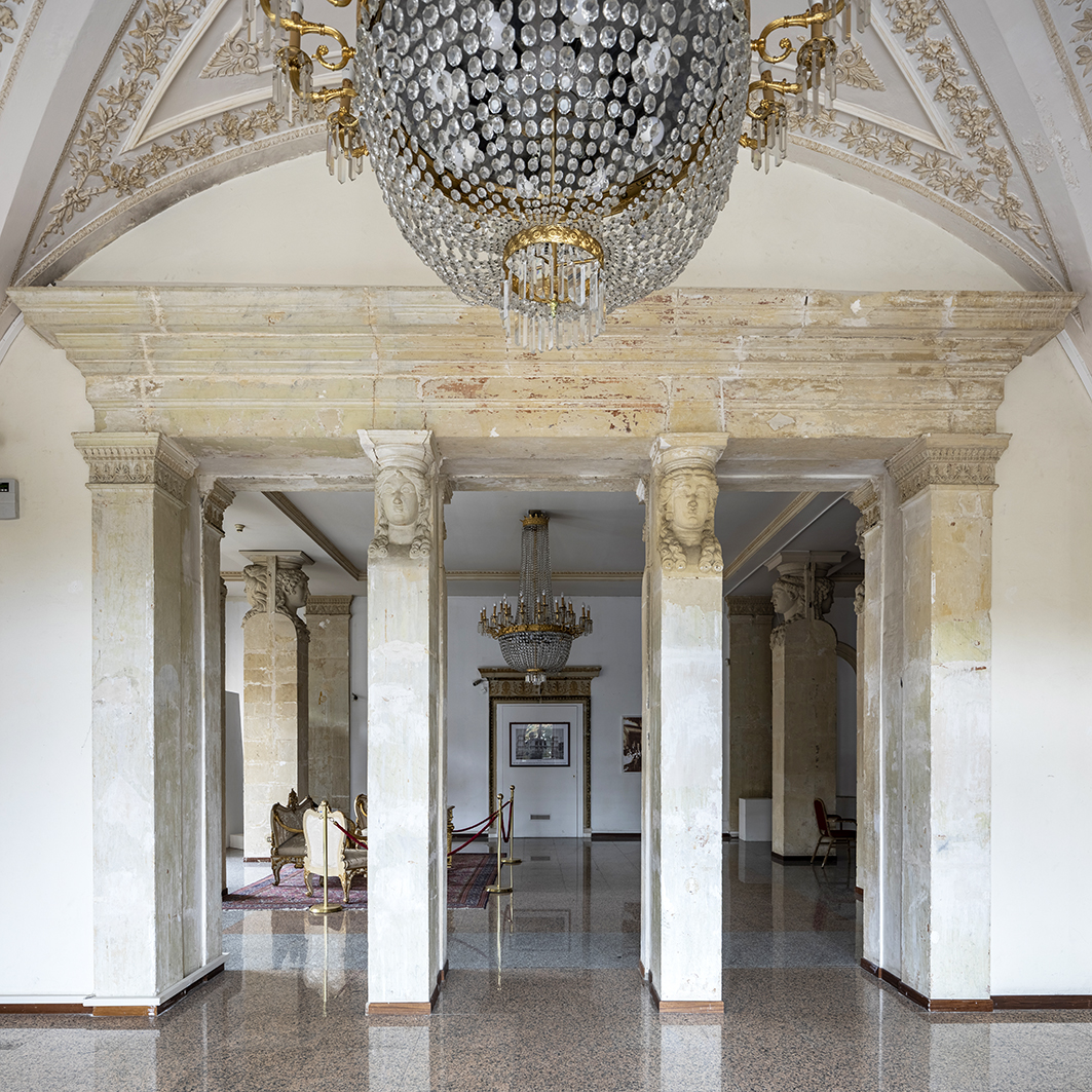 Foyer del teatro vittorio emanuele di messina