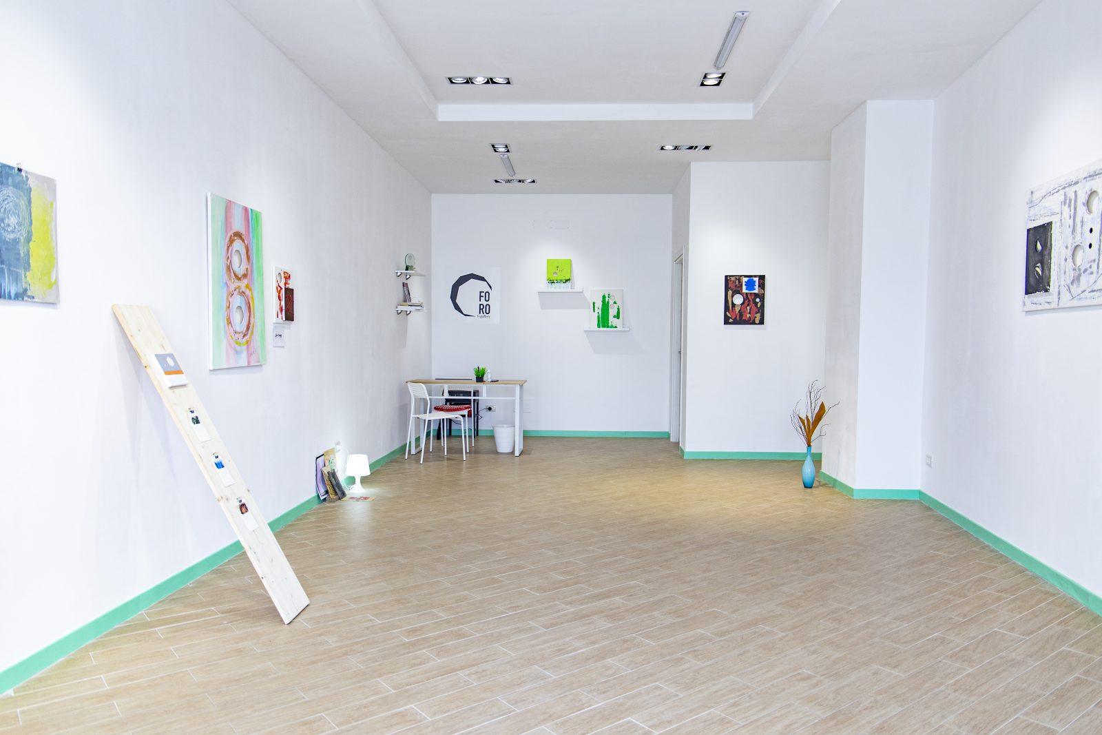 foro gallery, galleria d'arte di roberta guarnera a messina