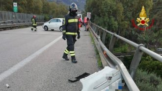 incidente autostrada a20 messina palermo, brolo