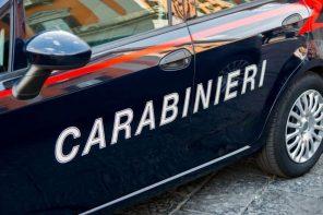 volante dei carabinieri, fiancata