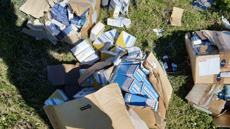 farmaci rifiuti abbandonati a messina