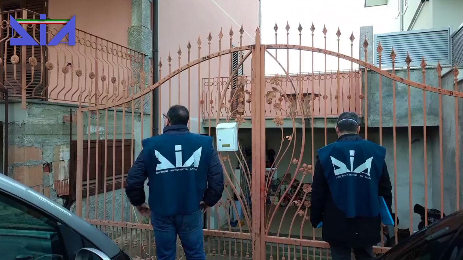 sequestro villa a pregiudicato da parte della direzione antimafia (dia)
