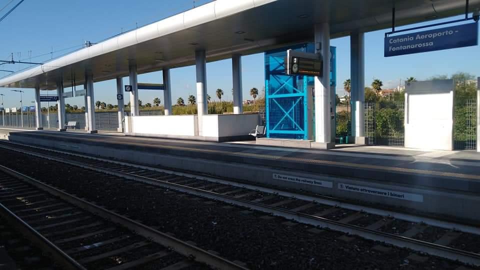 stazione fontanarossa, aeroporto di catania