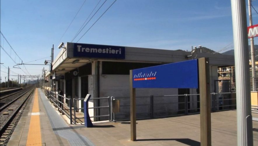 metroferrovia di messina, stazione di tremestieri