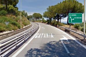autostrada a18 messina-catania uscita taormina verso catania