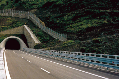 galleria autostrada A20 Messina-Palermo