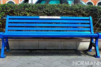 panchina blu a messina