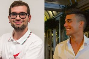 studenti messina gresini racing: davide chillemi e massimiliano crisafulli