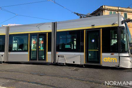 tram bloccato a piazza cairoli, servizio sospeso a messina