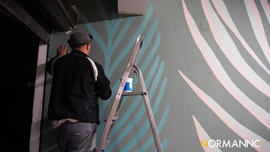 murale di nessunettuno da benefit a messina