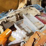 rifiuti nelle baracche di camaro sottomontagna, area di risanamento di messina