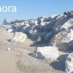erosione costiera, lavori a marmora