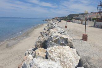 erosione costiera, lavori a ortoliuzzo