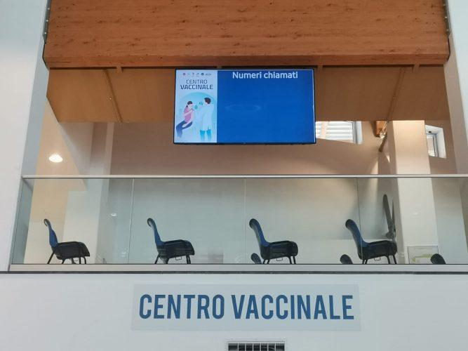 hub vaccinale al parco corolla di milazzo