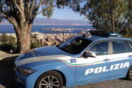 volante della polizia di stato di messina