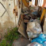 rifiuti baracche camaro sottomontagna