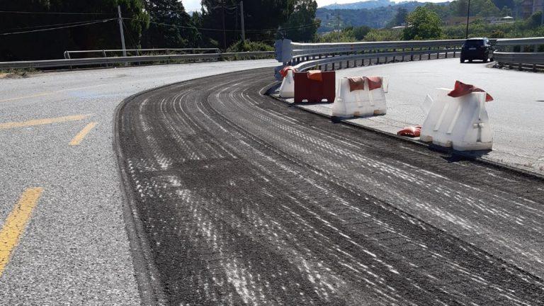 lavori autostrada a20 messina-palermo: svincolo di rometta