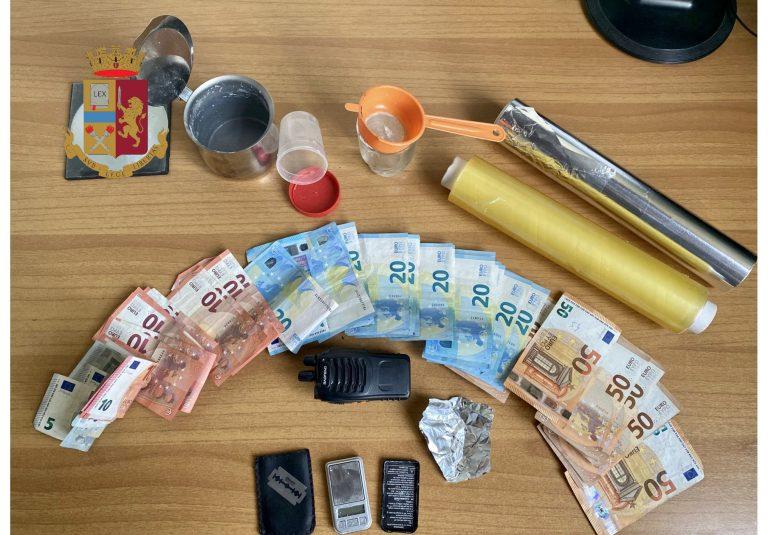 spaccio di droga a messina: arrestato pusher