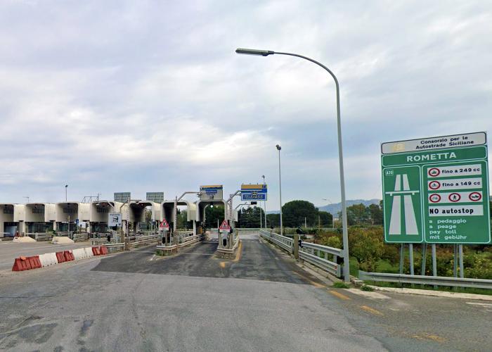 svincolo di rometta (autostrada a20 messina-palermo)
