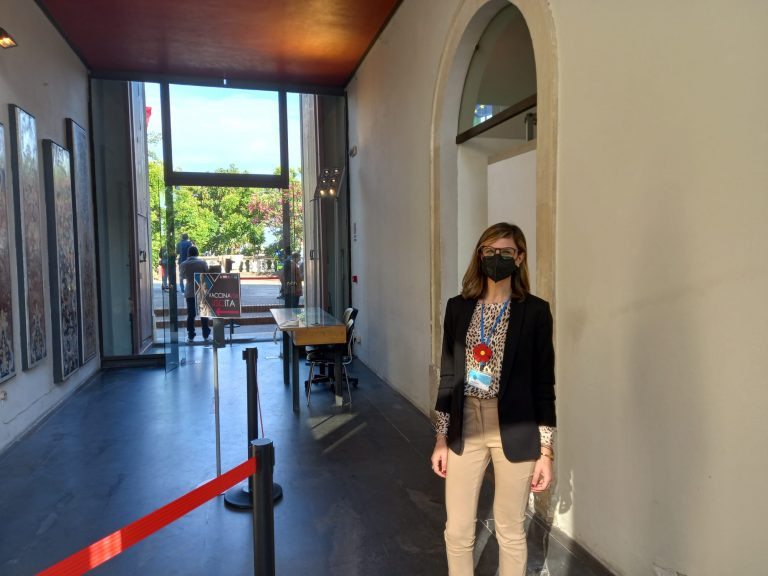 Foto di VaccinArte: hub vaccinale al MuMe, museo regionale di Messina