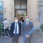 Alberto Firenze e Orazio Micali, iniziativa VaccinArte: hub vaccinale al MuMe, museo regionale di Messina