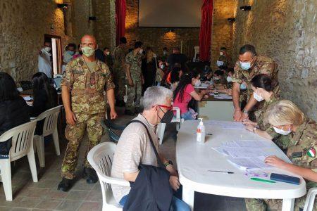 vaccini esercito sicilia