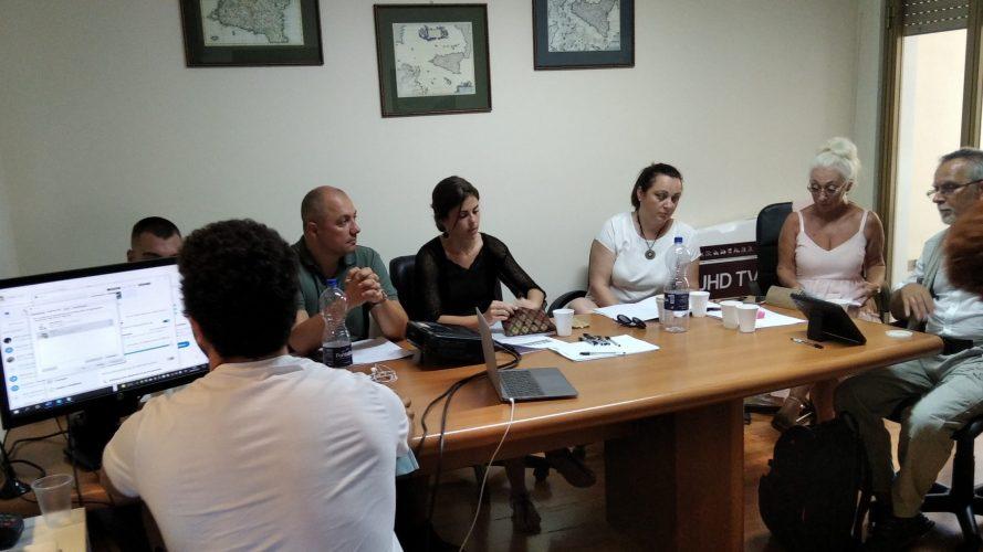 Local communities leaders - meeting Messina