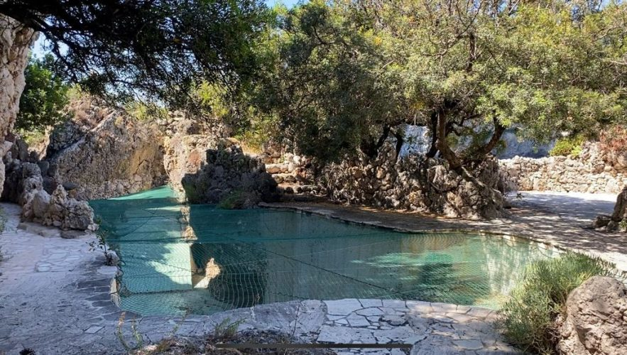 Isola Bella, Villa Bosurgi, la piscina messa in sicurezza
