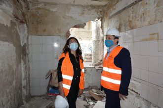 demolizione baracche fondo saccà