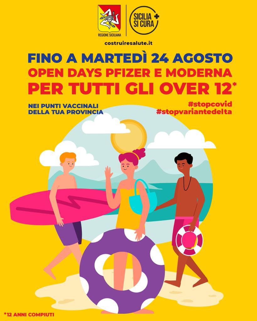 open days vaccini anti-covid sicilia
