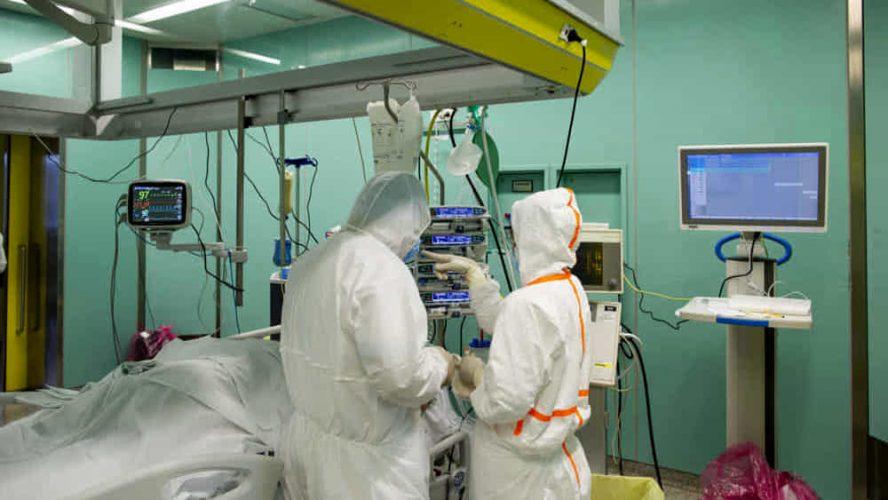 ospedale, reparto covid